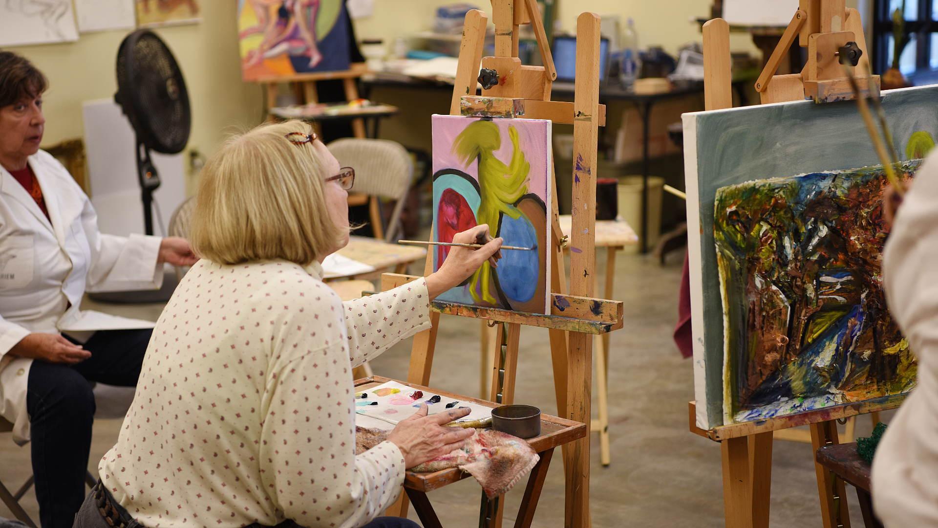 3qtr Art And Craft Classes Dorothy C Benson Senior Multipurpose