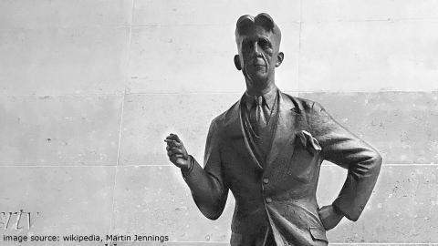 BBC Orwell statue