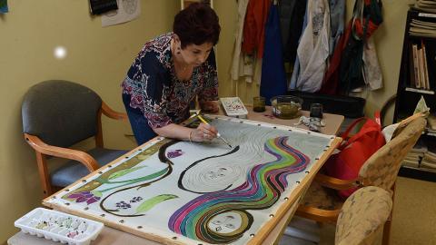 Silk Dye Painting Advanced