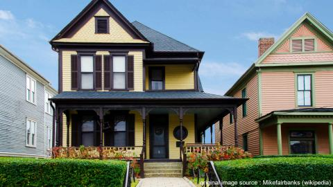 Martin Luther Kings childhood home