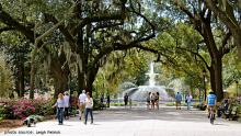 Christmas in Historic Savannah