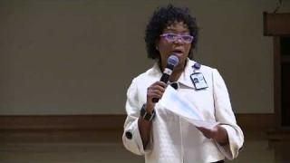 Dr. Pamela Roshell  at the Dorothy Benson Center 11/1/2017 (part 1)