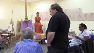 Charles Scogins - Painting Class - Dorothy Benson Center - November 9, 2017