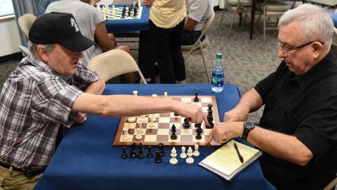 Chess with Tony