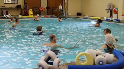 Water Fitness II (advanced)