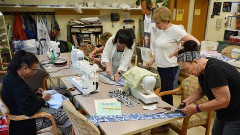 Fiber Arts: Basic Sewing