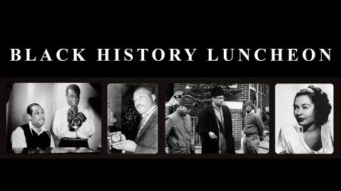 Black History Luncheon