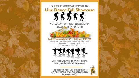 Line Dance Fall Showcase