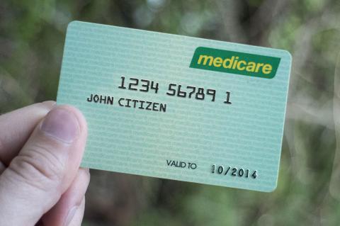 Sample Medicare Card