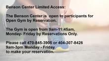 Open Gym by Reservation