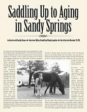 Saddling Up to Aging in Sandy Springs